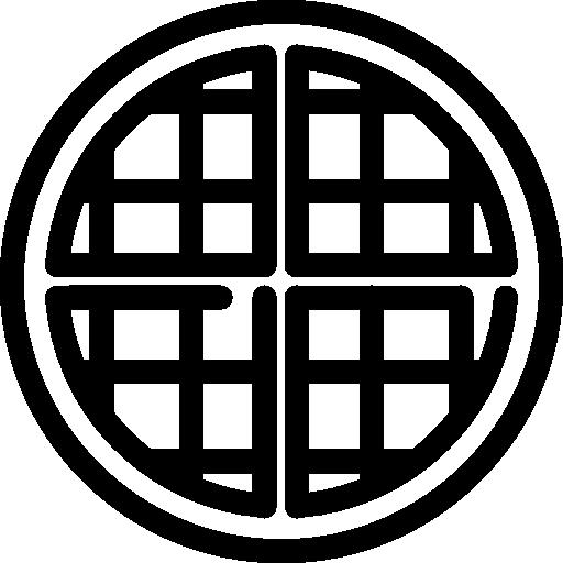 waffle-redondo